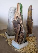 Candyman Project, 2012, glazed stoneware, various sizes