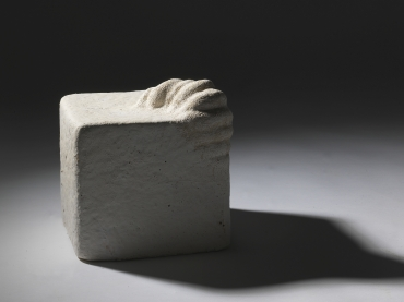 The Room, 2013, Stoneware, 24x24x24cm