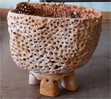 """mother belly, 2012, glazed stoneware, 41""""x23""""x38"""""""