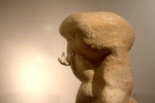 Mother said, 2013, stoneware, 40x31x112cm