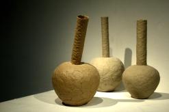As written, 2013, stoneware, sizes vary
