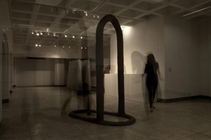 place, ceramic installation & digital documentation, 2015, all copyrights @minahkim.com